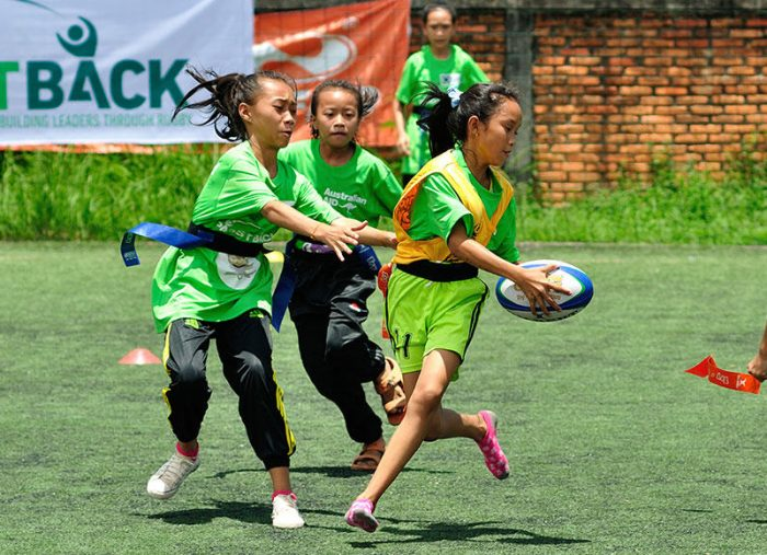 Female rugby players from Asia's poorest communities receive the opportunity of a lifetime