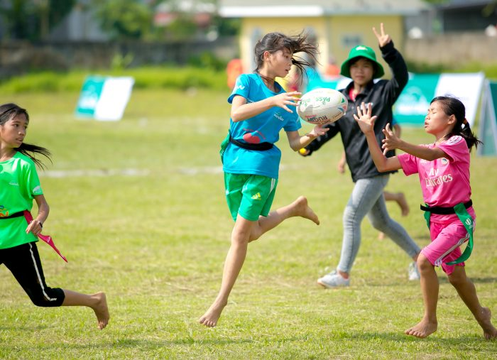 Rugby players from across Asia meet for international tag rugby competition at RKU