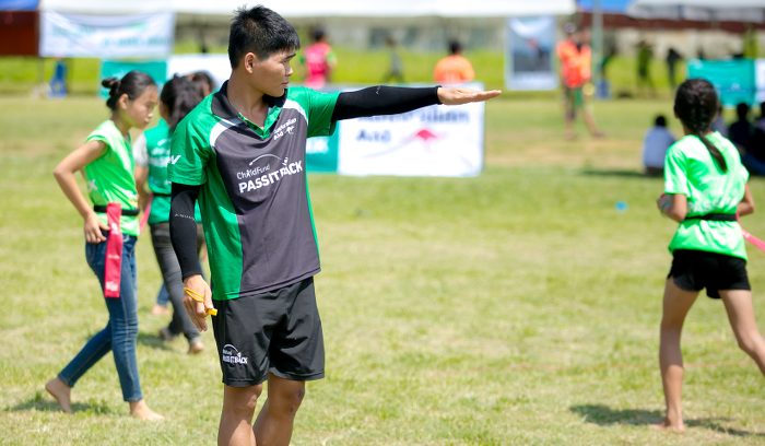 Truong, ChildFund Pass It Back Coach, Vietnam