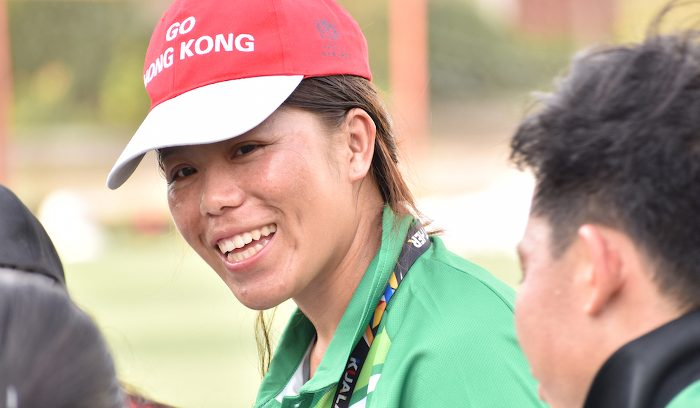 Lao Khang, former coach with ChildFund Pass It Back and member of the Lao Women's National Rugby team