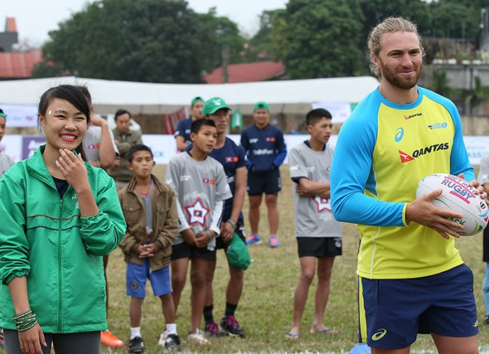 ChildFund and Australian Rugby partner to bring sport to youth in Asia