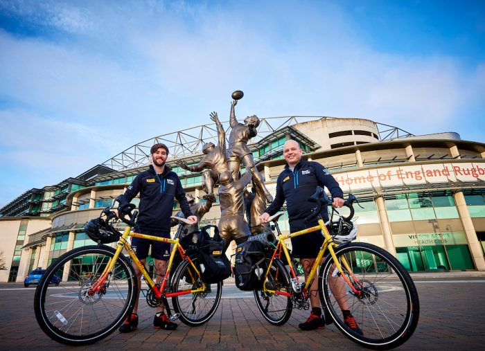 Race to Rugby World Cup: Cyclists begin epic journey  across Europe and Asia