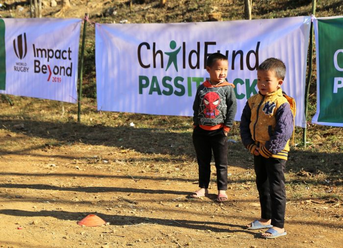 200 Days to Rugby World Cup 2019 with record-breaking donations to ChildFund Pass It Back