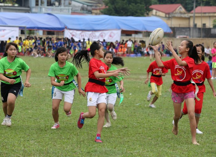 DHL partners with ChildFund to help children and youth learn through rugby