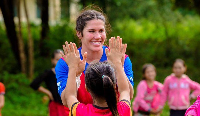 Charlotte Caslick OAM, Aussie Sevens Star and ChildFund Ambassador