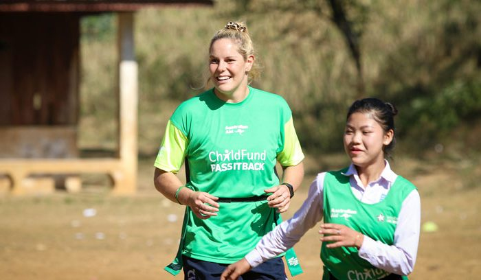 Emily Chancellor, Wallaroo and ChildFund Ambassador