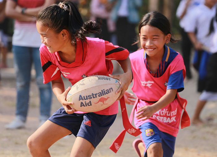 Three ways that rugby builds coordination skills for children
