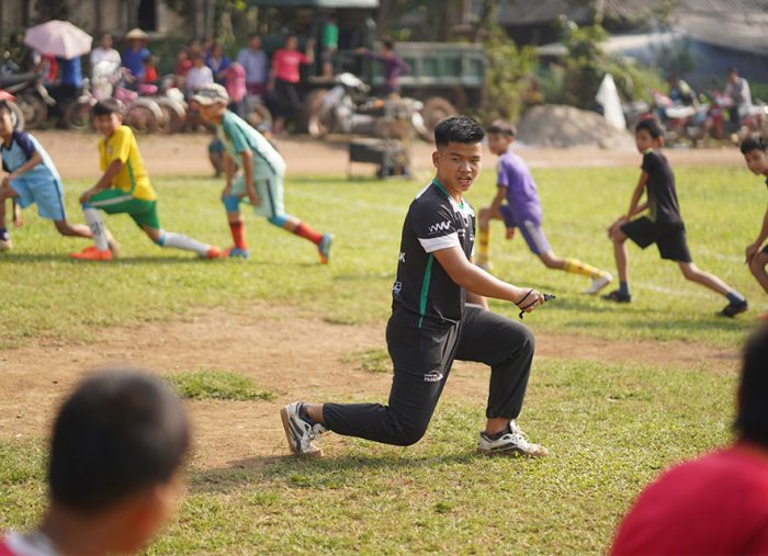 For Nhan, ChildFund Pass It Back is so much more than just sport