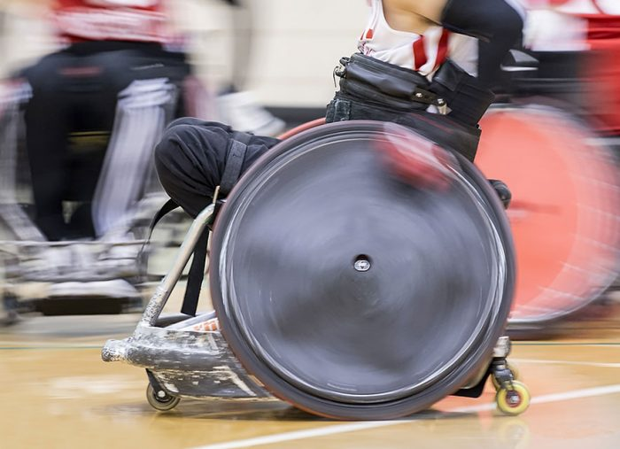 What is wheelchair rugby?