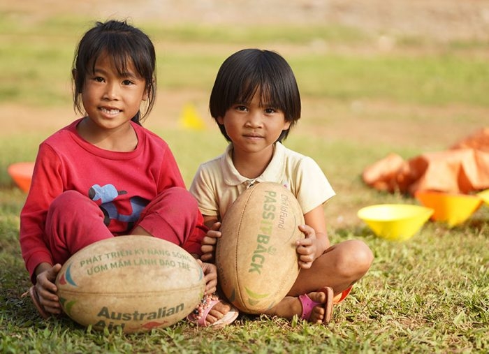 Rugby World Cup 2019 set to 'pass it back' to children in the region