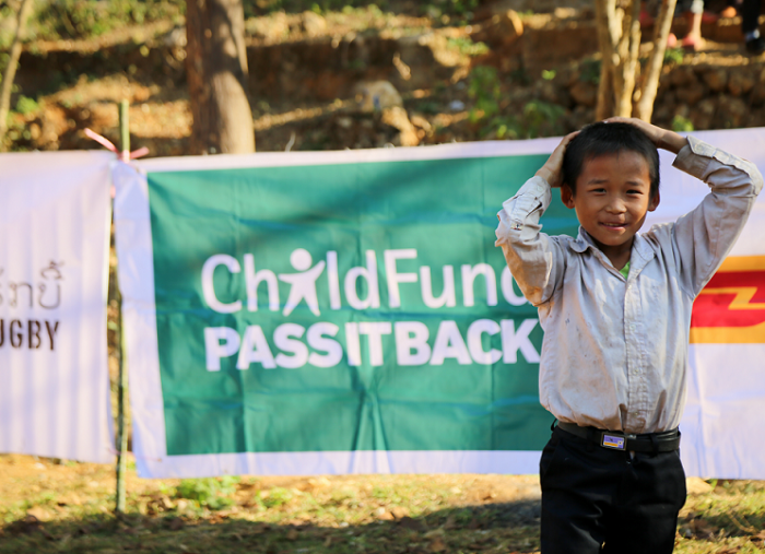 Global rugby family pledges record-breaking £2m to  ChildFund Pass It Back