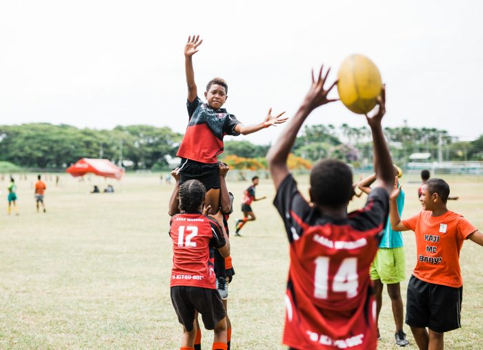 ChildFund and Oceania Rugby announce new partnership to keep children safe in sport