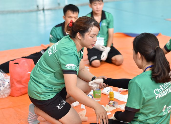 ChildFund Pass It Back Coach Ha uses her skills to protect her community