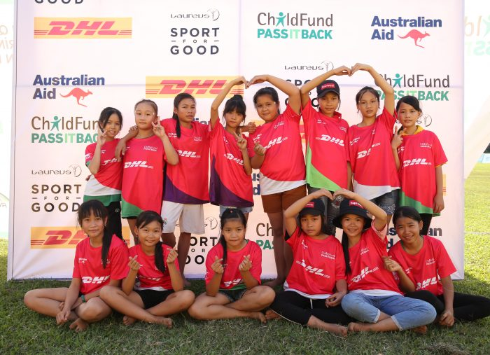 A victory for all girls rugby team Blazing Sun