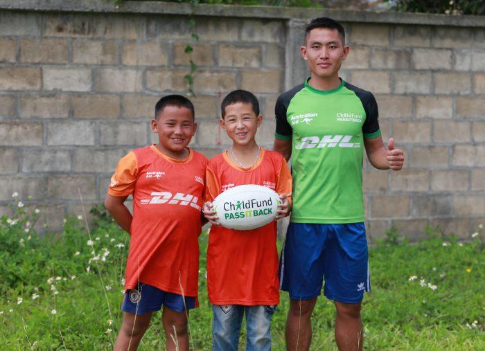 Coach Toukeu helps keep children safe through sport