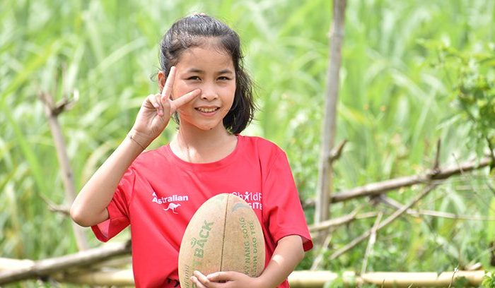 Trang, Pass It Back player, Vietnam