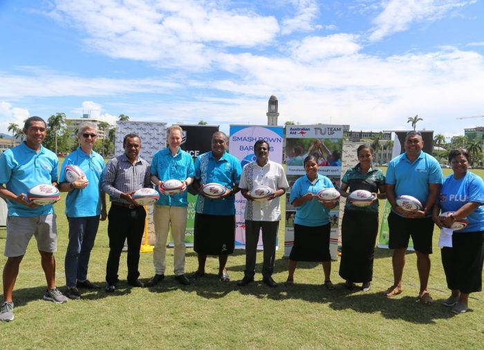 Team Up supports Get Into Rugby PLUS in Fiji and Samoa
