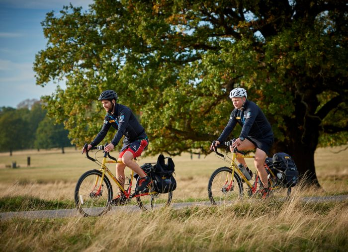 A Journey across Continents: Two Cyclists Look Back at DHL Race to Rugby World Cup
